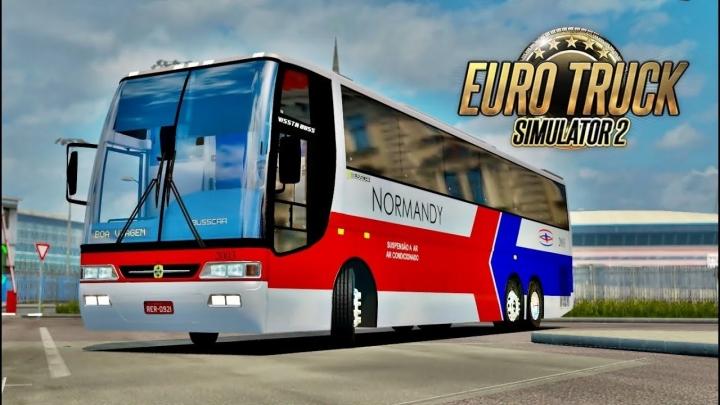 ETS2 - Busscar Vissta Buss O400 RSD Bus Mod (1.41.x)