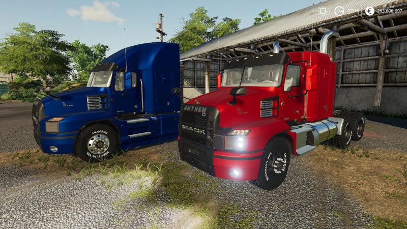 FS19 - 2018 Mack Anthem 48 Sleeper Truck V1.0