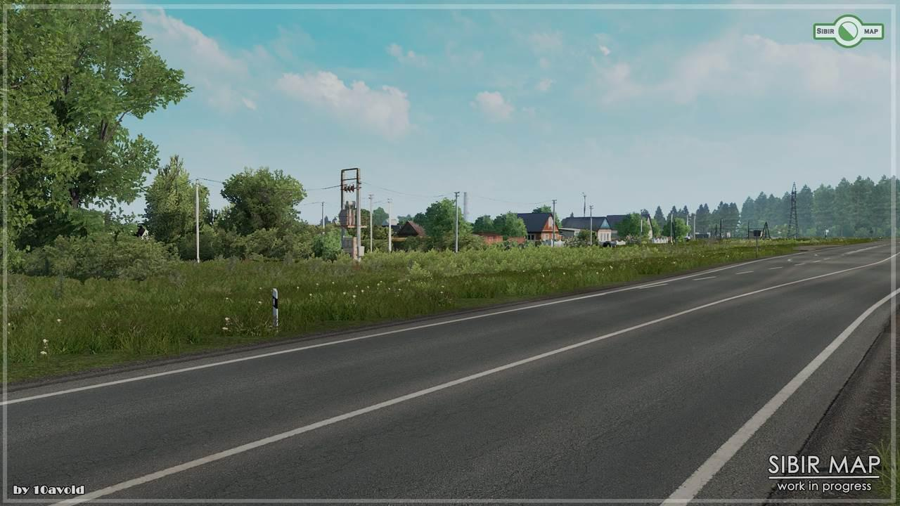 ETS2 - Sibir Map V0.4.2 (1.35.x)