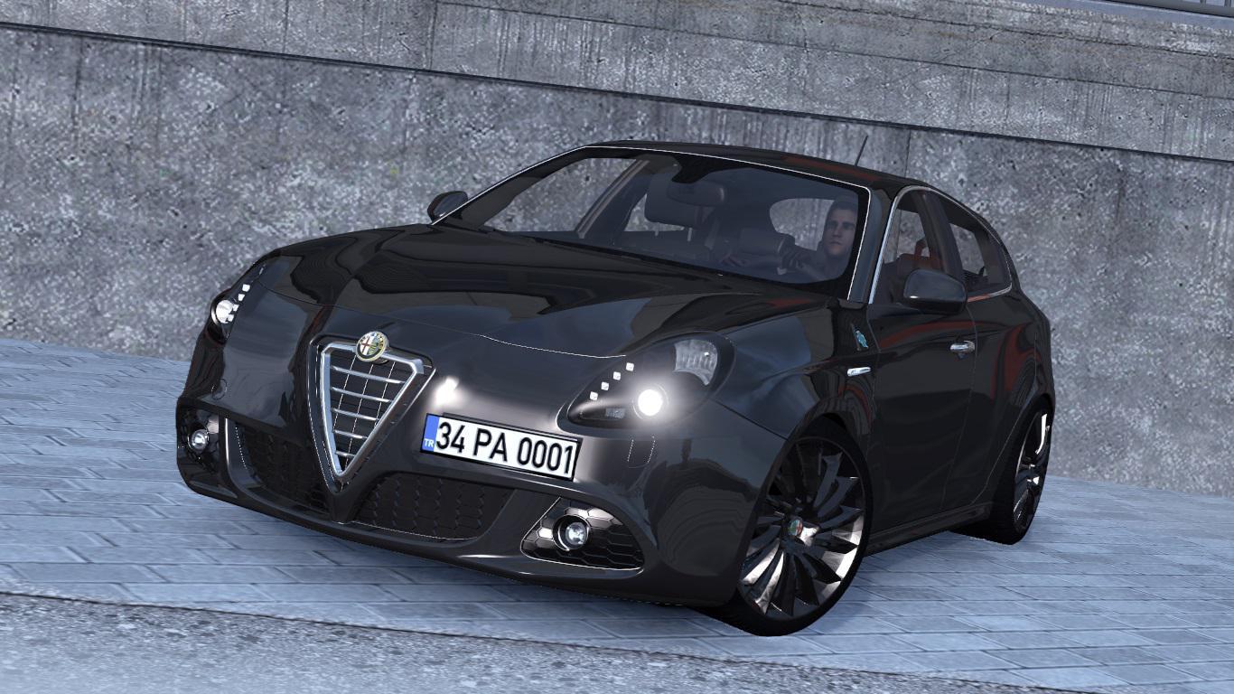 ETS2 - Alfa Romeo Giulietta V1R30 (1.37.x)