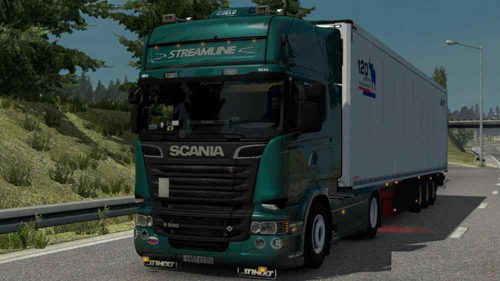 ETS2 - Scania Megamod V7.0 (1.36.x)
