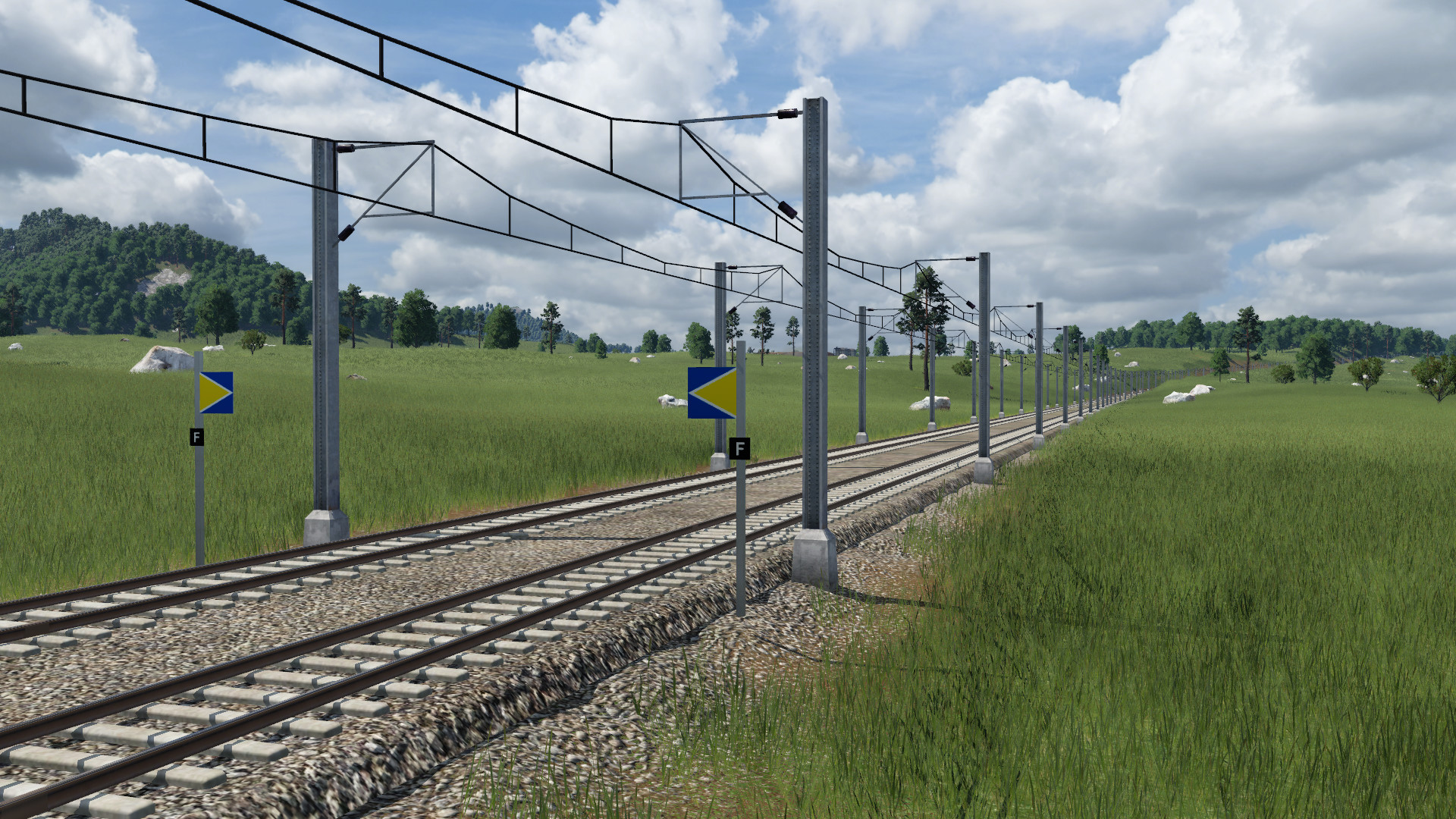 Transport Fever 2 - More Tracks and TVM Signal