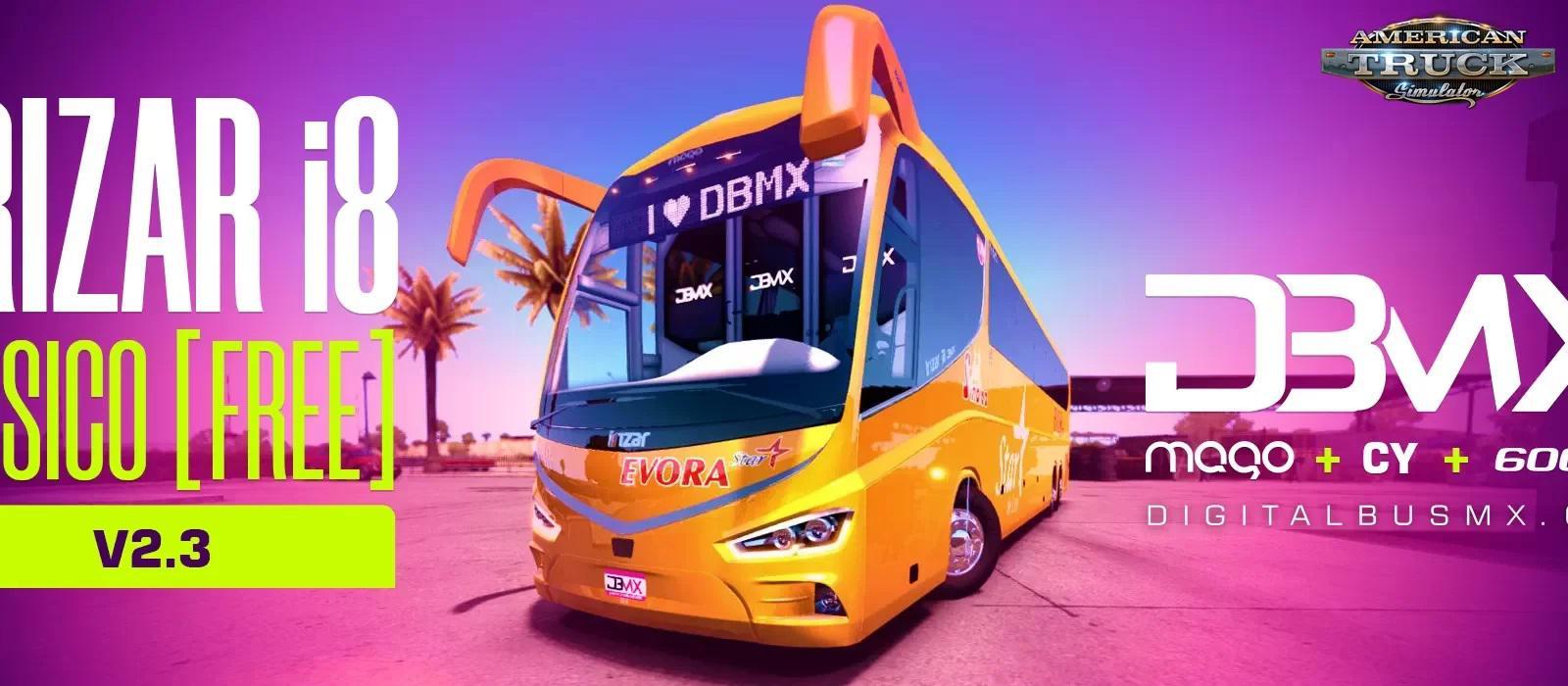 ATS - Bus Irizar i8 + Interior V2.3 (1.36.x)