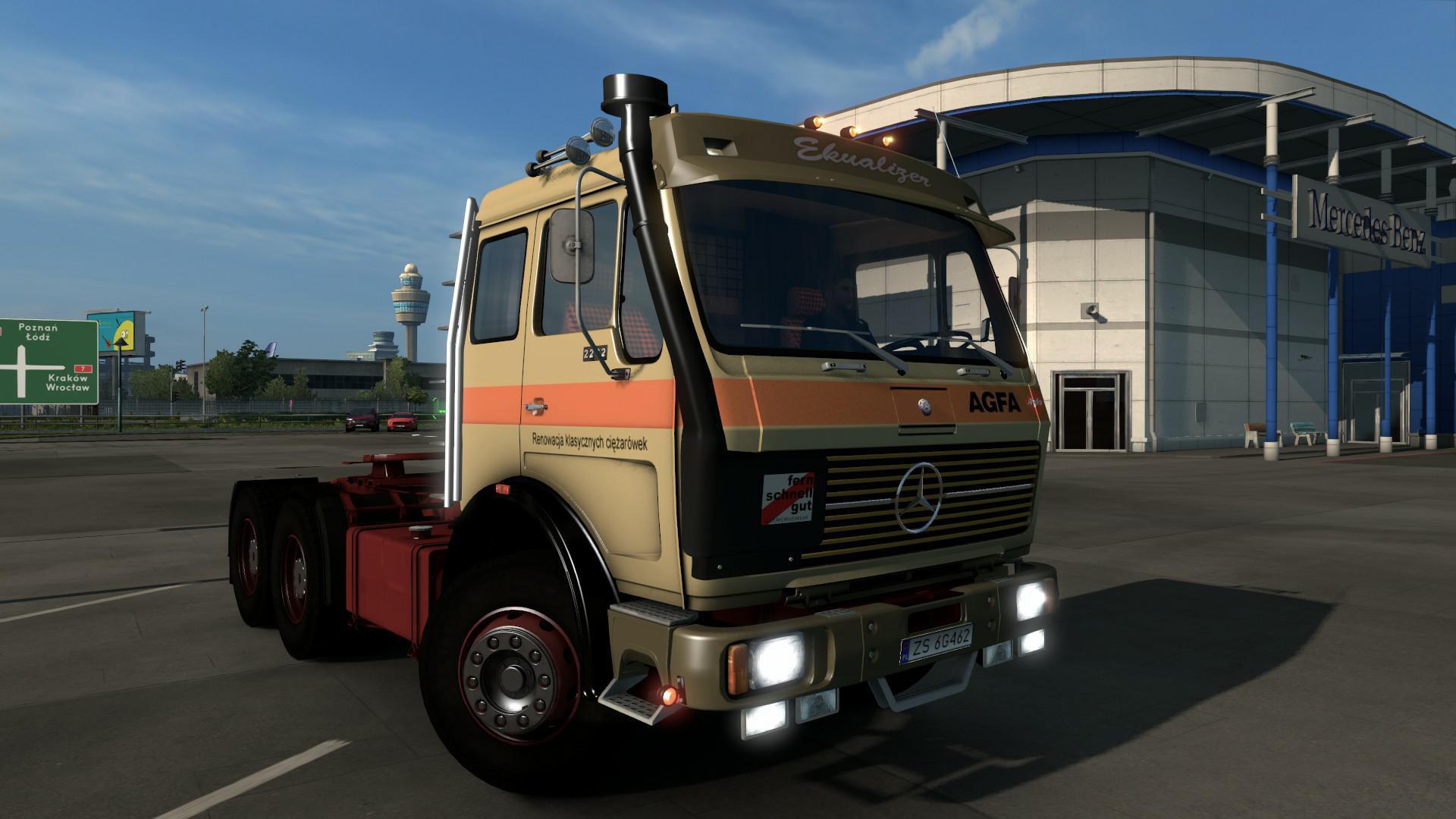 ETS2 - Mercedes-Benz NG Truck (1.36.x)