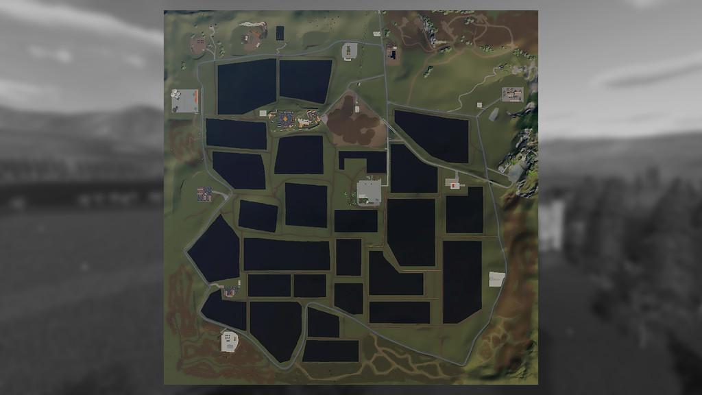 FS19 - Tuscan Lands Map V1.0.0.1