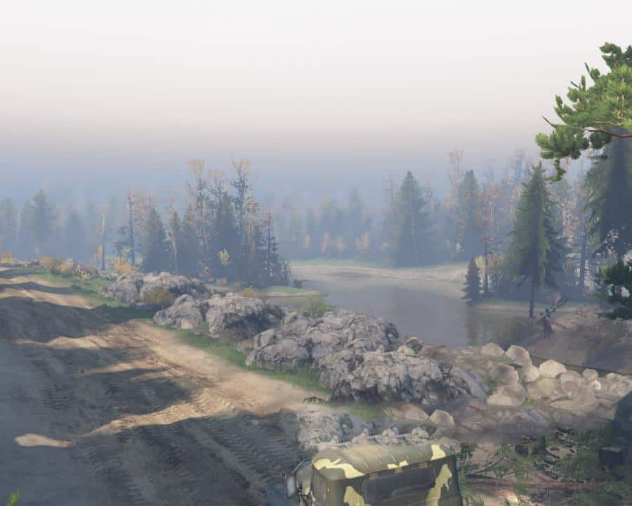 Spintires - 2 Rivers Map V1.0