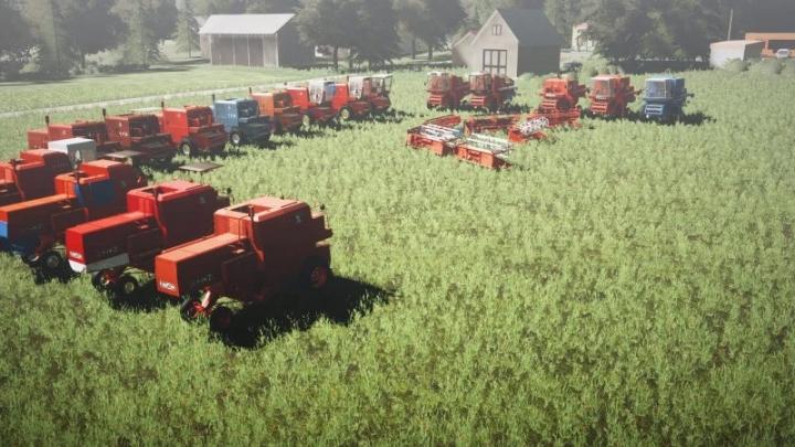 FS19 - Bizon Z040, Z050, Z055, Z056, Z057, 5056 Harvester V1.0