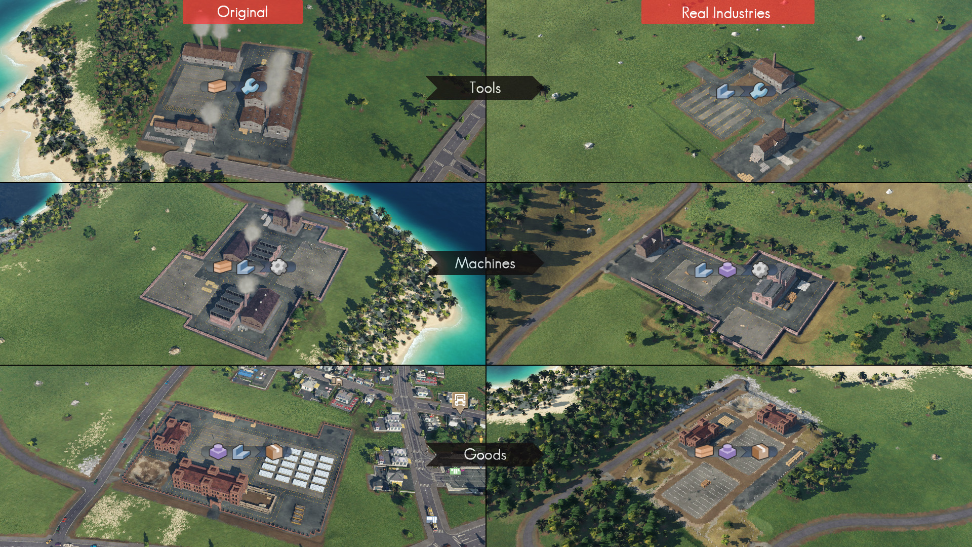 Transport Fever 2 - Real Industries