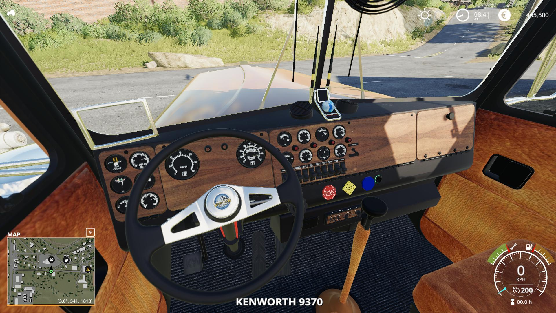FS19 - 1974 Kenworth W900A Flat Top V1.0