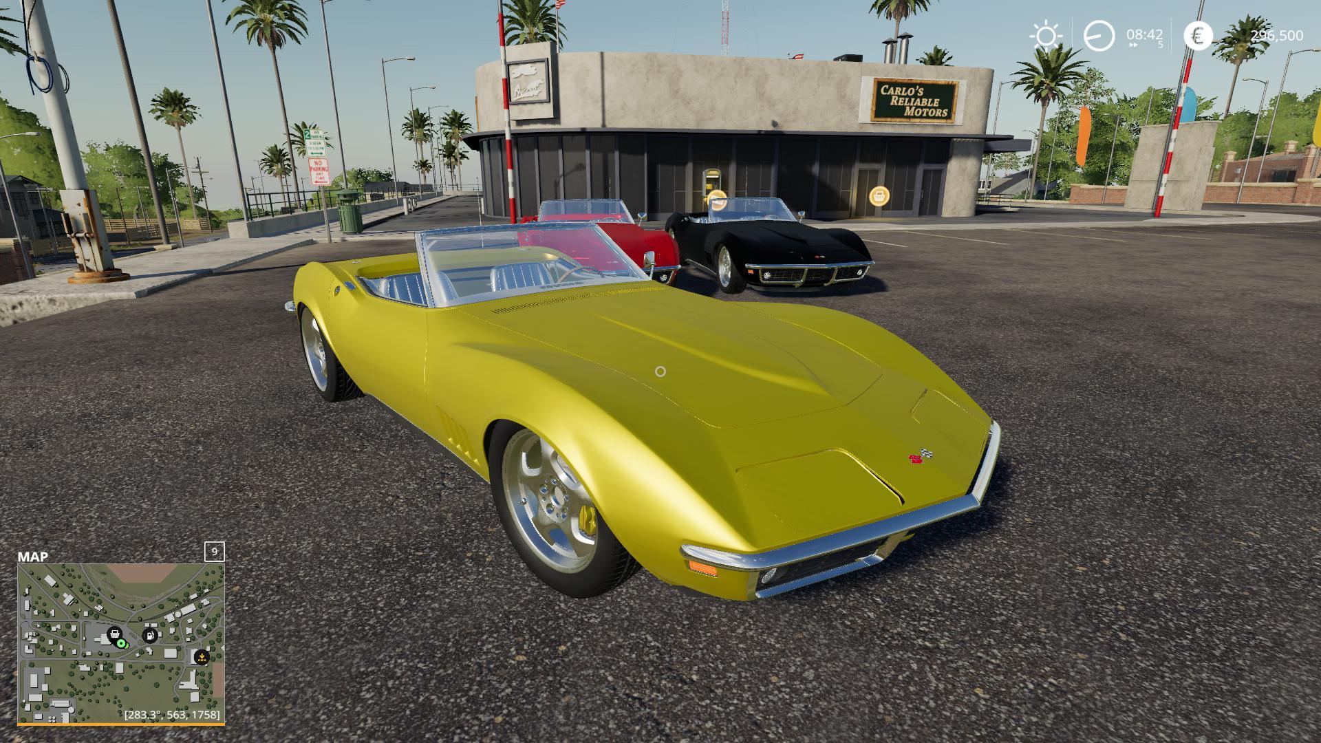 FS19 - Chevrolet Corvette C3 1968 V1.0