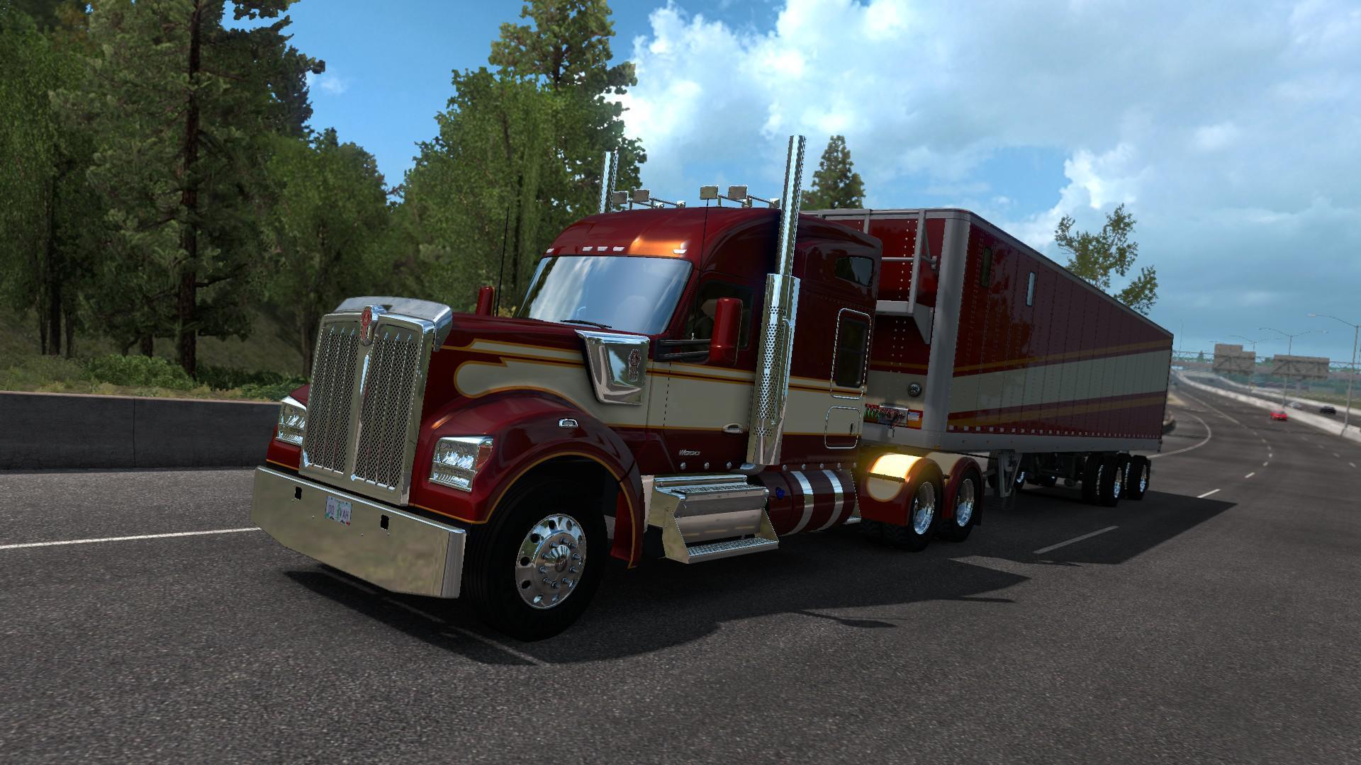 ATS - Kenworth W990 Truck V1.2.2 (1.37.x)