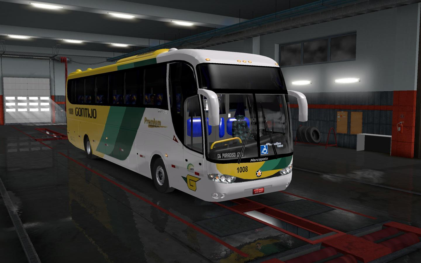 ETS2 - Marcopolo Paradiso G6 1200 4x2 Bus Mod v1.0 (1.35.X)