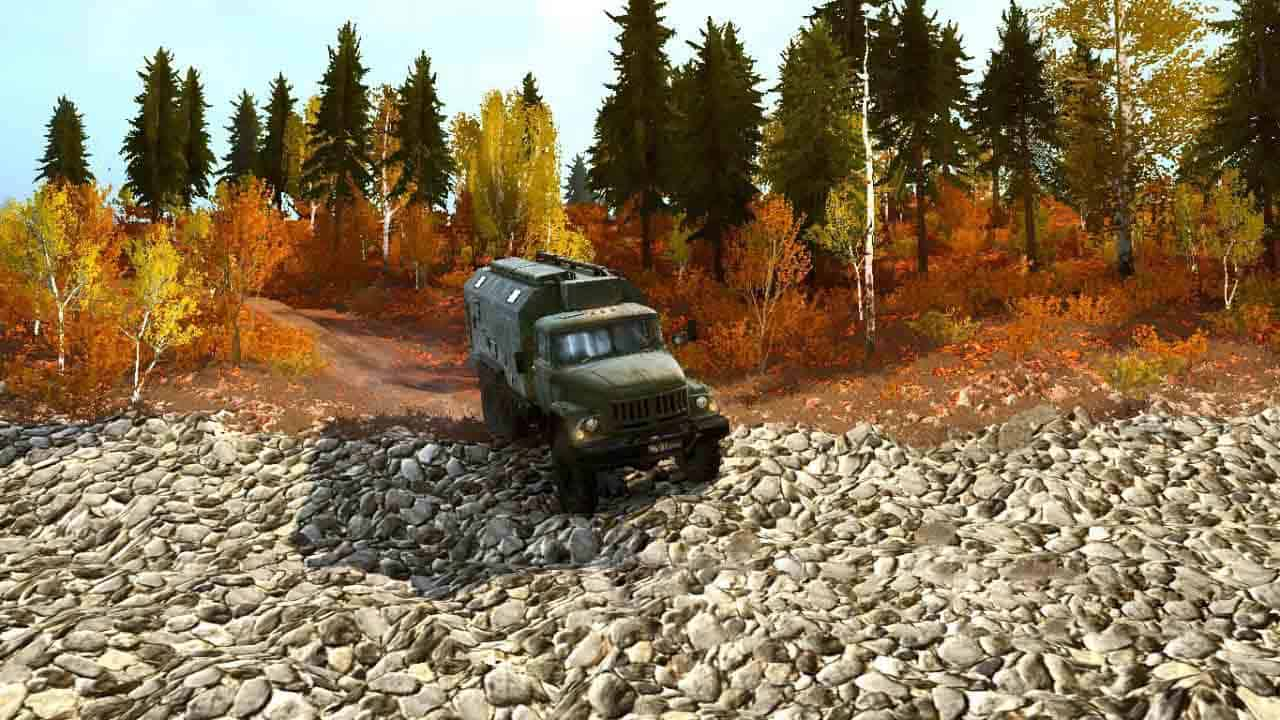 Spintires:Mudrunner - Autumn Map V1
