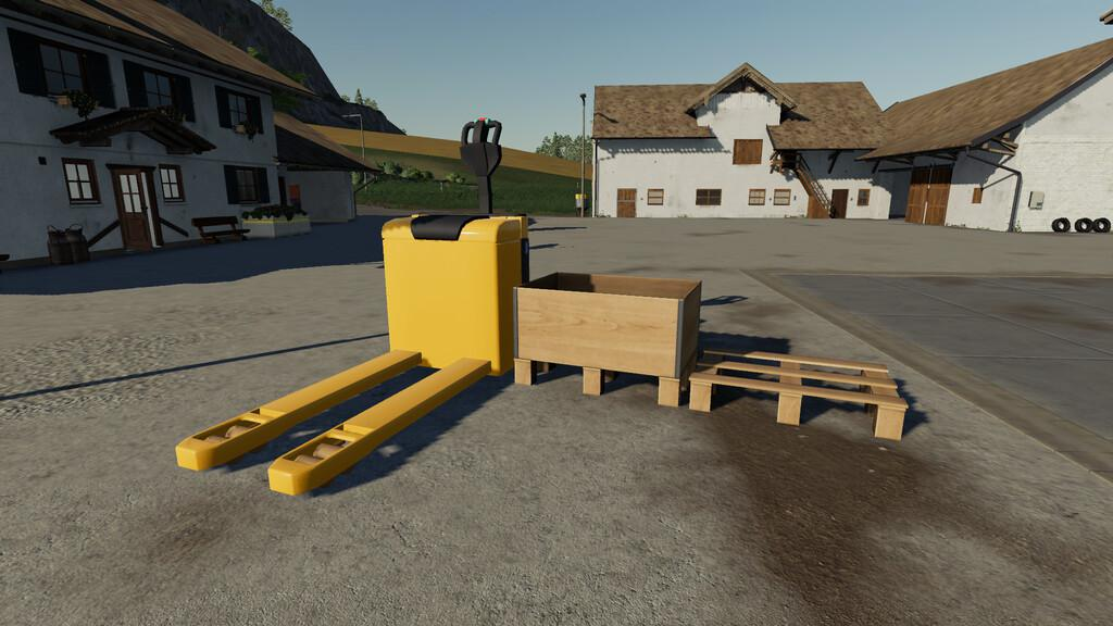 FS19 - Electric Pallet Truck V1