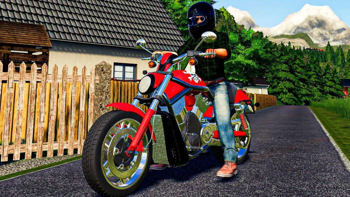 FS19 - Harley Davidson 1100CC V1.0