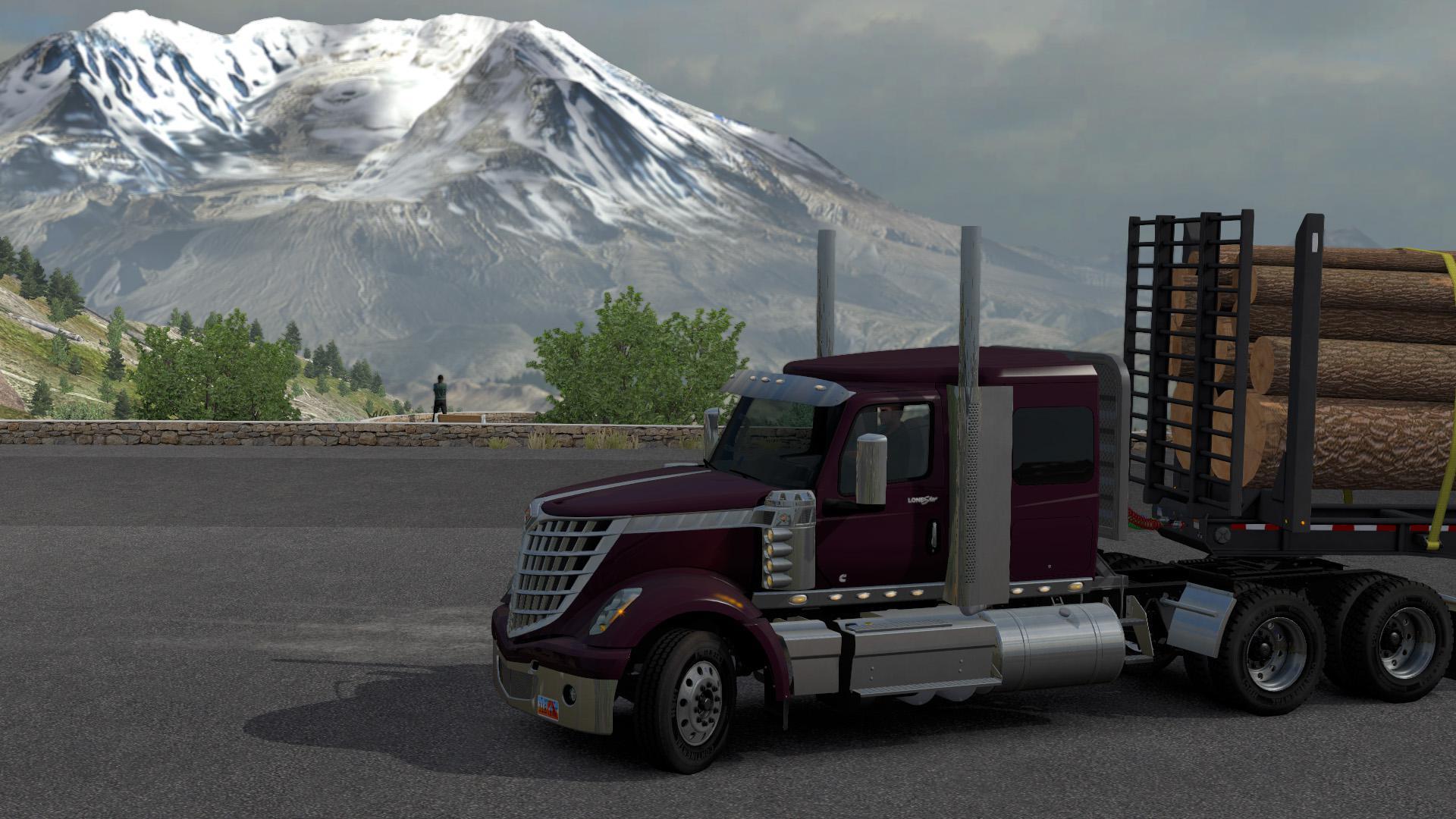ATS - International Lonestar Reworked Truck V1.0 (1.37.x)