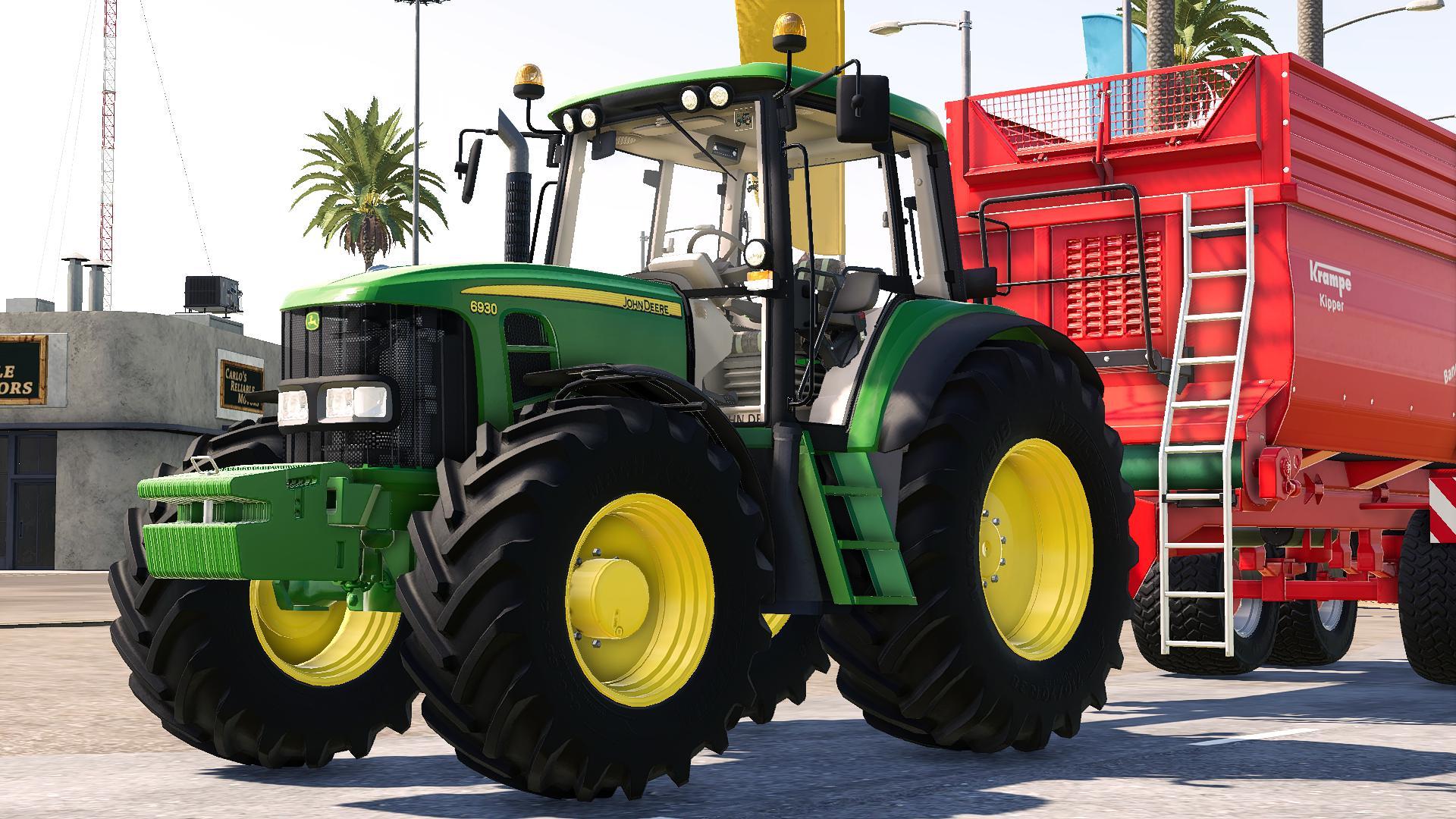 FS19 - John Deere 6030 Tractor V1.0