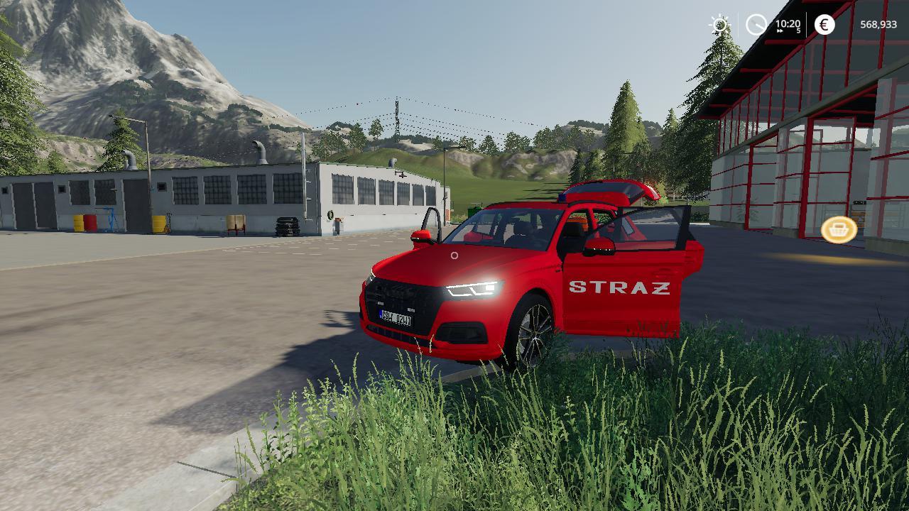 FS19 - Audi Q5 Straz Pozarna V1