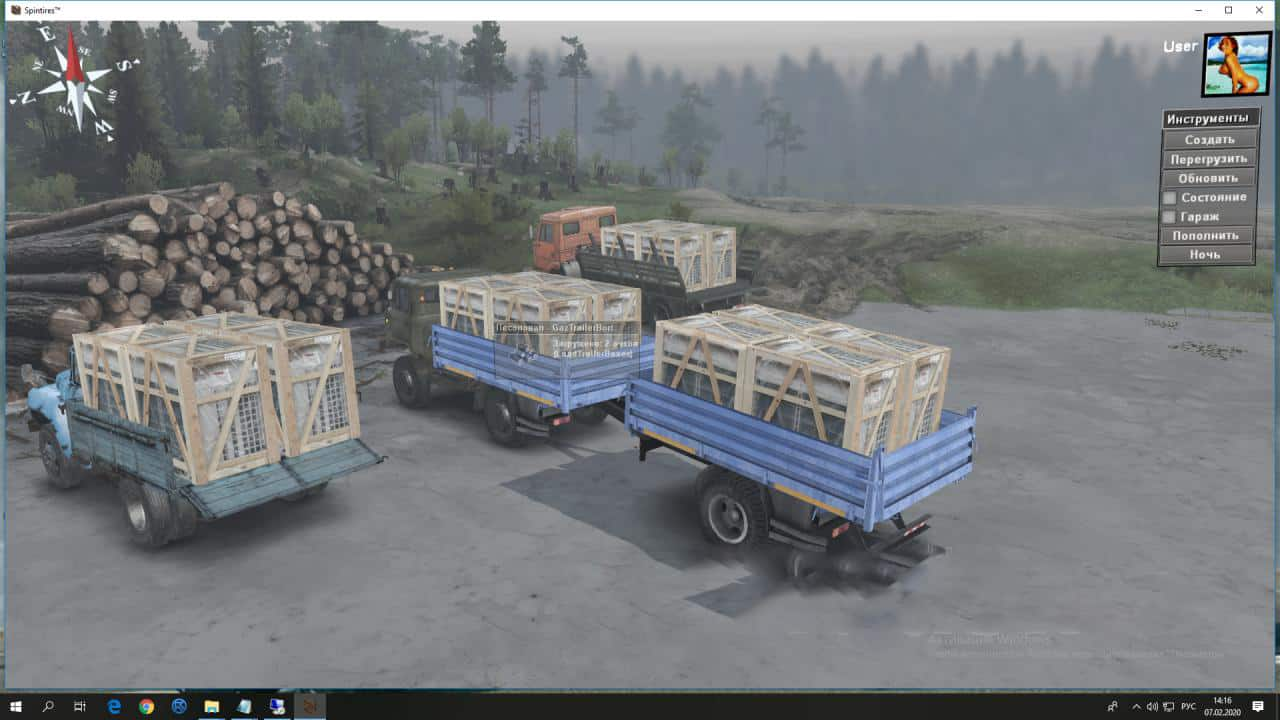 Spintires - Series Carriers No 1