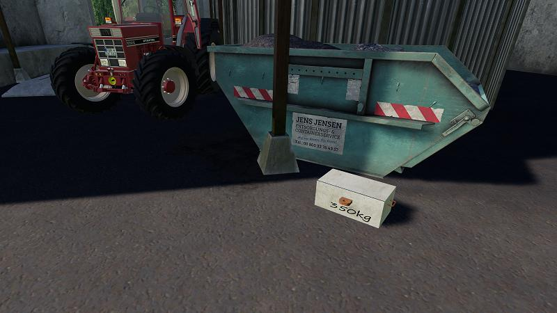 FS19 - 2 Small Front Weights for Oldies V1.0