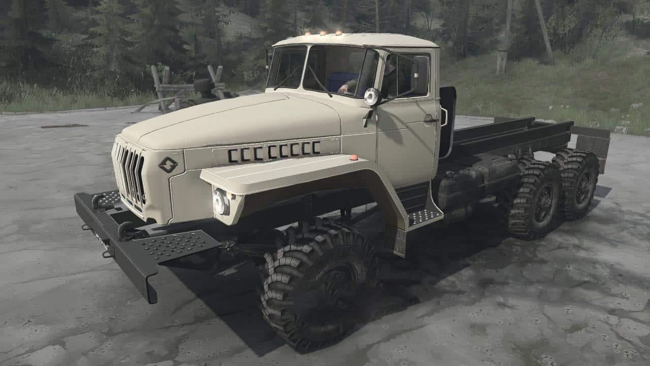 Spintires:Mudrunner - Ural-4320 Truck V01.07.20