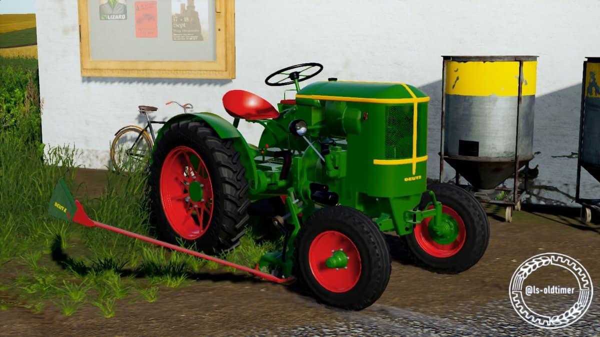 FS19 - Deutz F1L514 Tractor V1.0