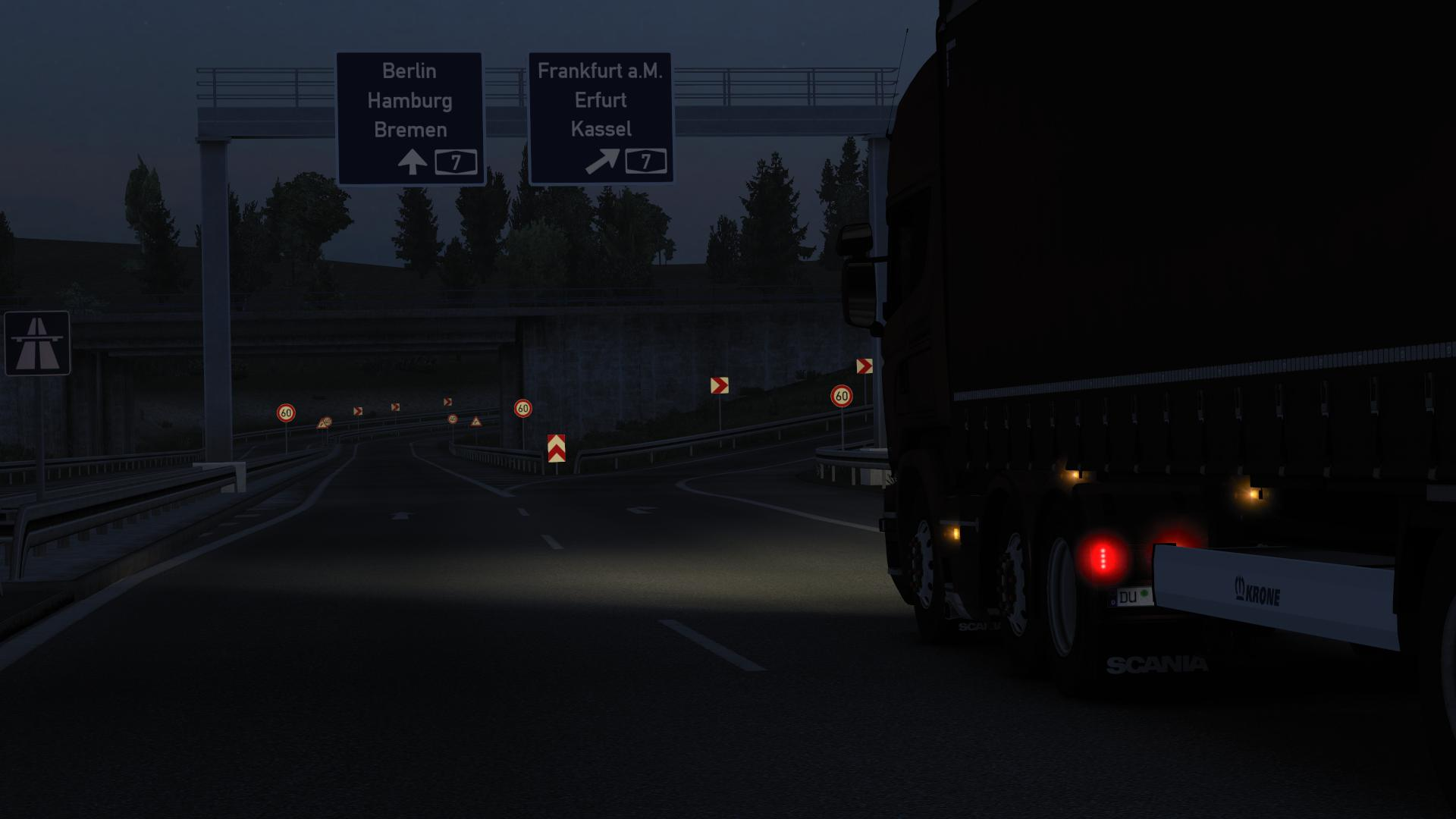 ETS2 - Realistic Headlights V2.4.2 (1.39.x)