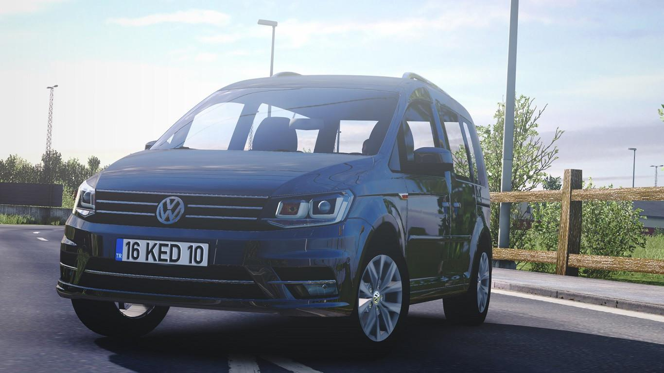 ETS2 - Volkswagen Caddy V1R60 (1.40.x)