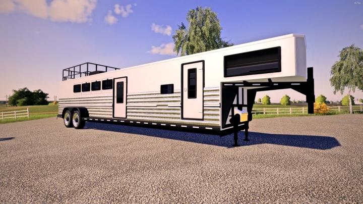 FS19 - Horse Trailer Custom V1.0