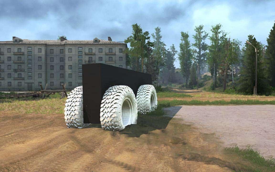Spintires:Mudrunner - Brick on Wheels V1.0