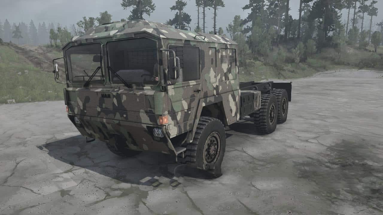 Spintires:Mudrunner - Balanced Trucks Pack No 2