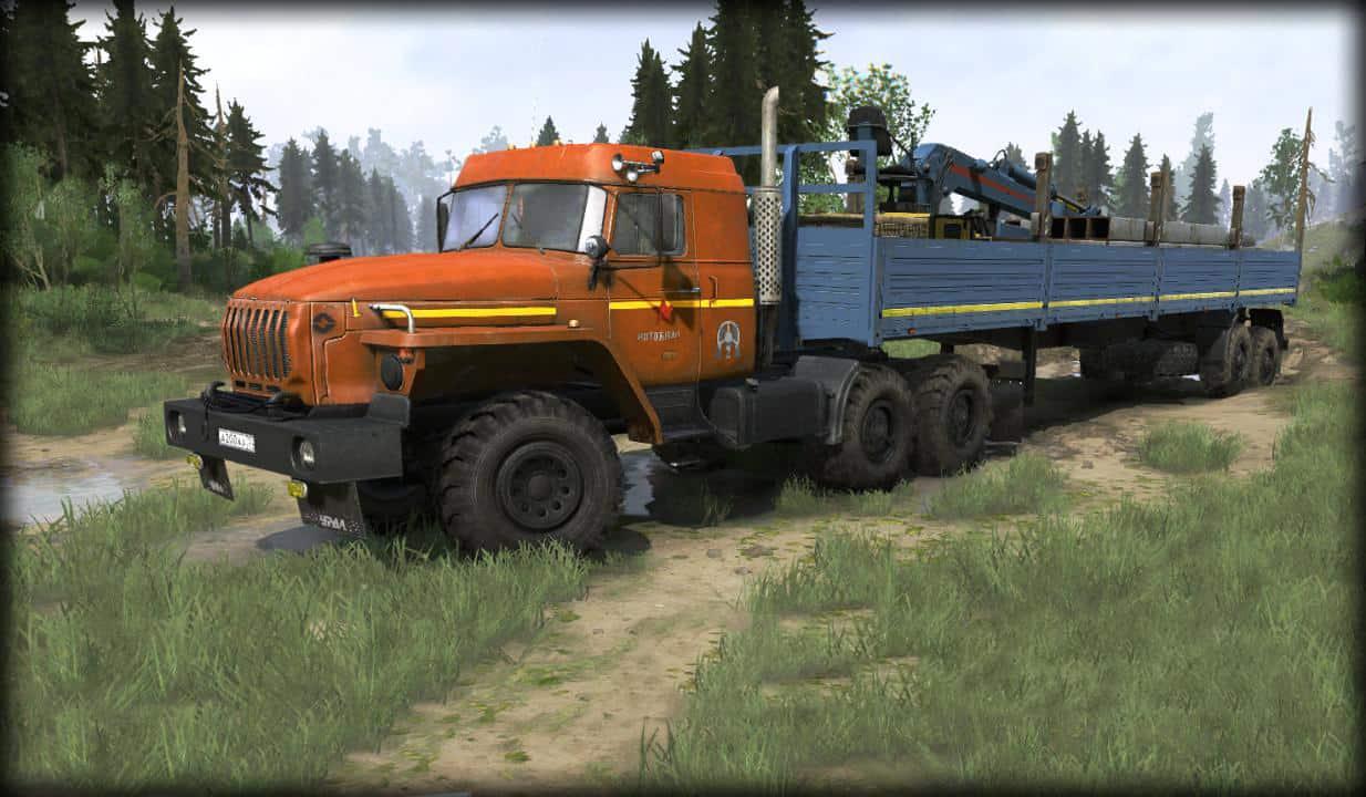 Spintires:Mudrunner - Ural Pack V1