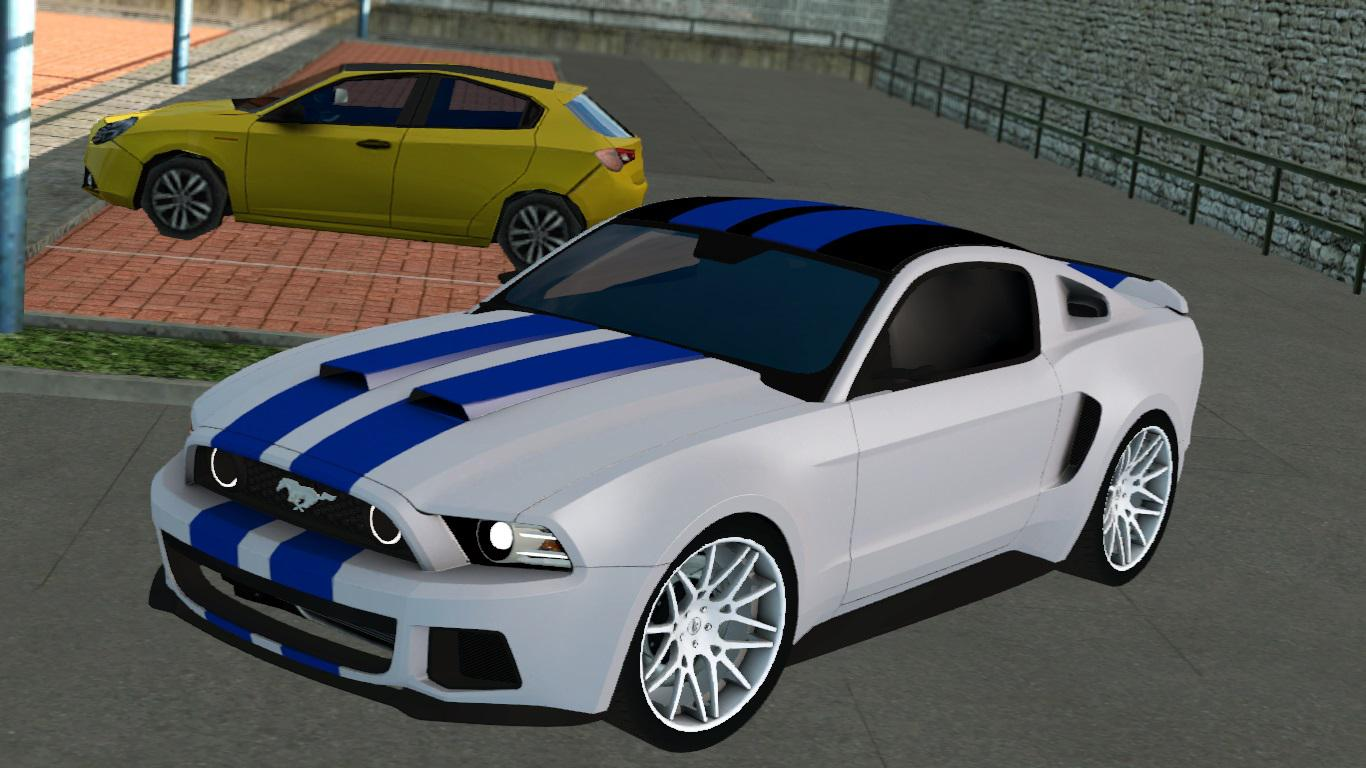 ETS2 - Need For Speed Ford Mustang New Fix (1.38.x)