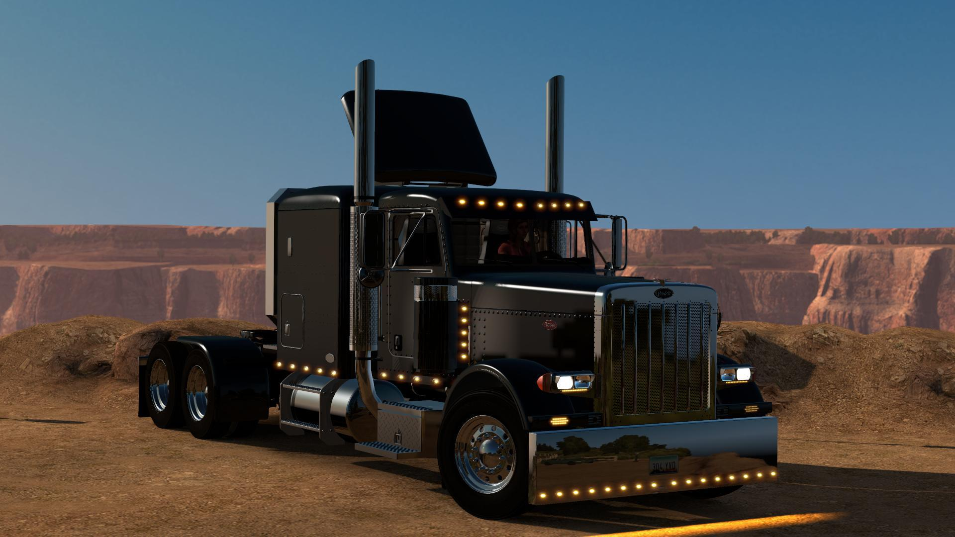 ATS - Peterbilt 389 Modified Truck V2.2.7 (1.39.x)