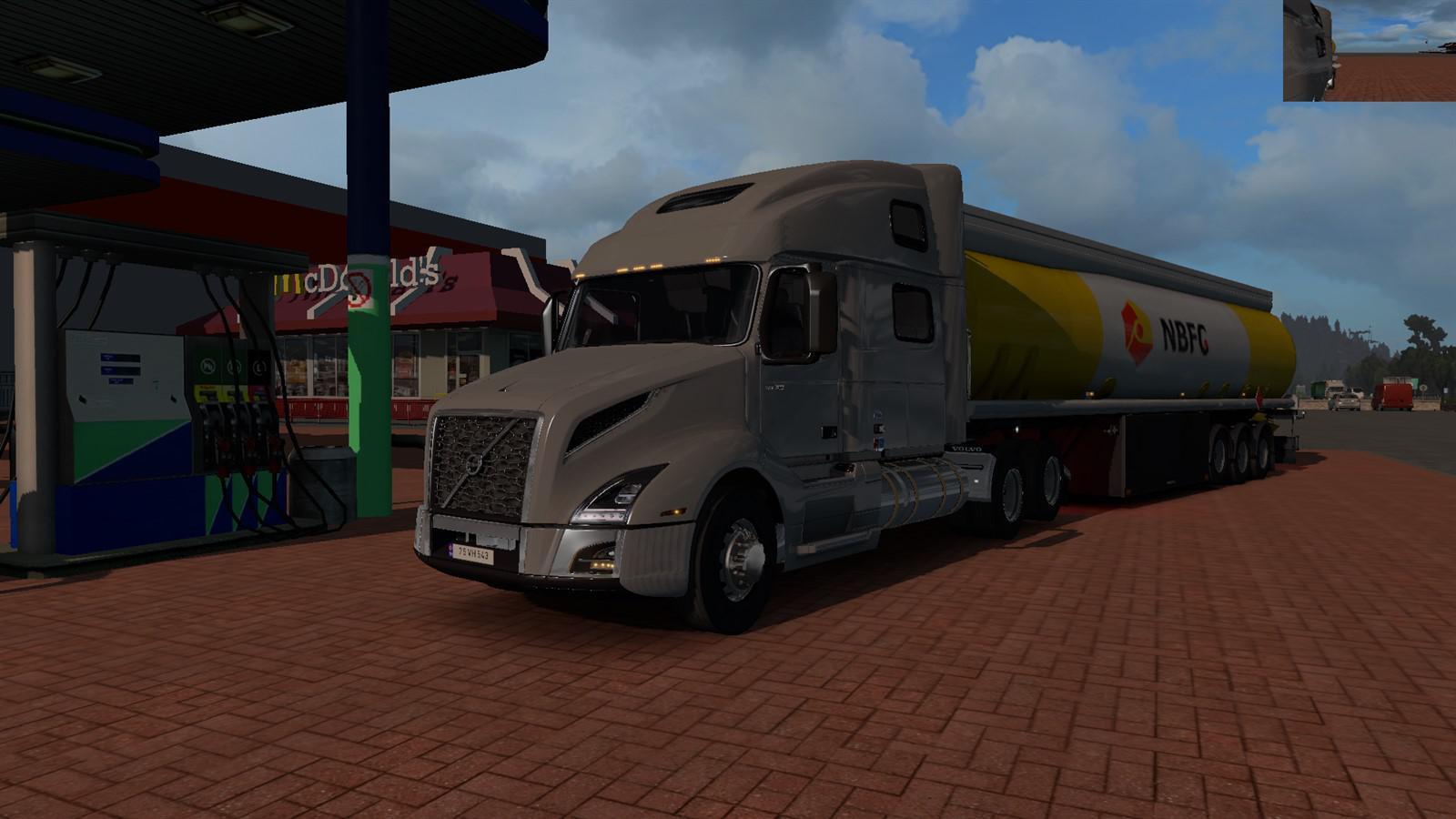 ETS2 - Volvo VNL 2018 Truck V2.17 (1.36.X)