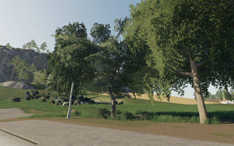 FS19 - Dark Trees & Bush Textures V1.0