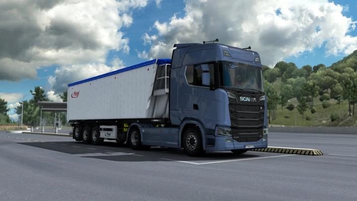 ETS2 - Scania Stock V8 New Gen V2.0 Temporary Fix (1.39+)