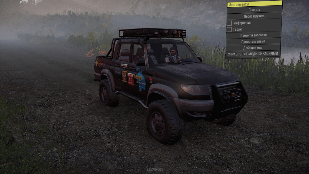 SnowRunner - Uaz Patriot Pickup 08.06.20