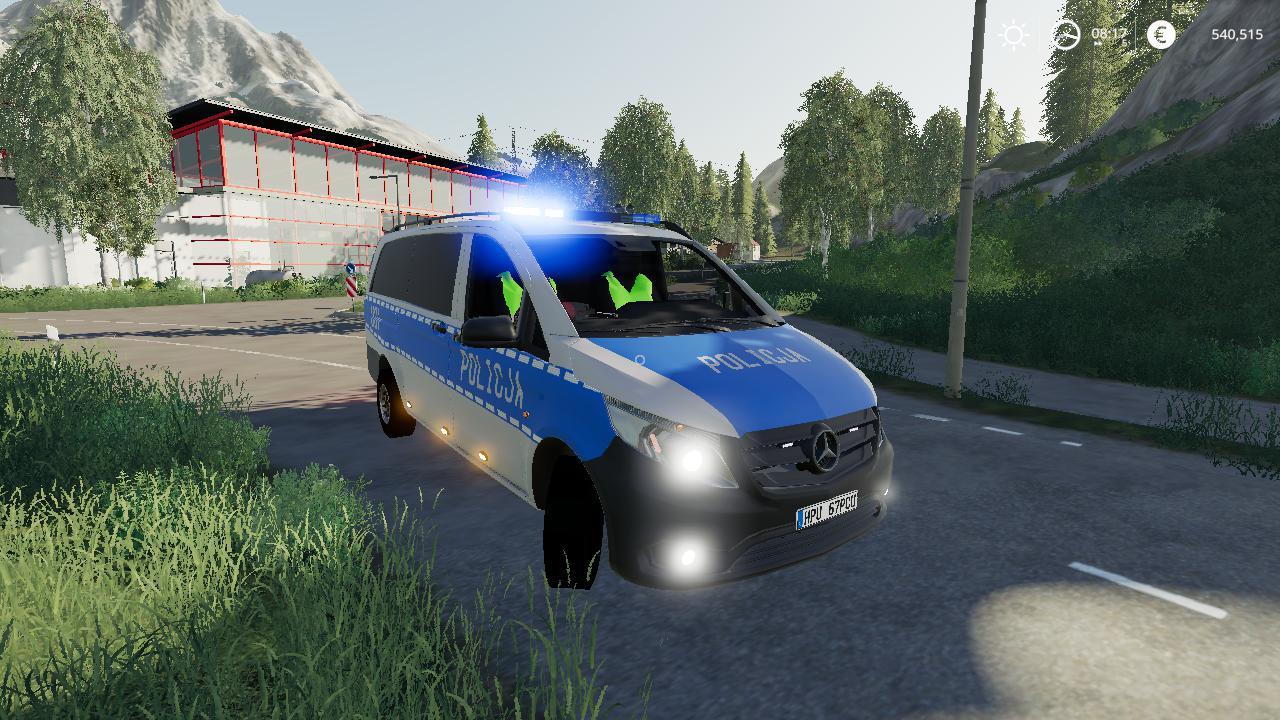 FS19 - Radiowoz Police V1