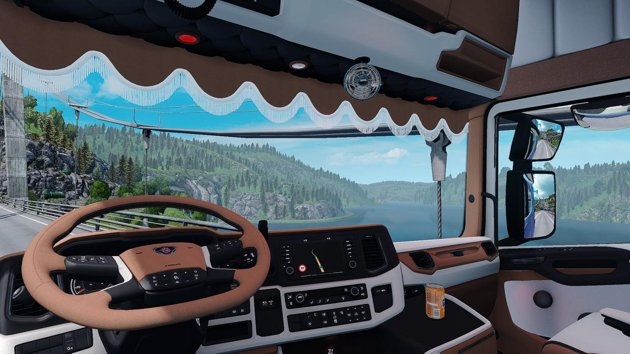 ETS2 - Scania S SCS Next Gen Holland Interior IG (1.36.x)