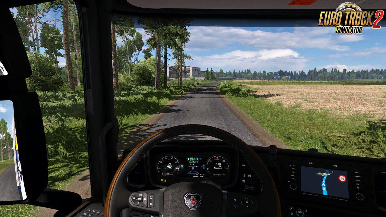 ETS2 - ReShade Preset - More Realistic Lighting V3.0.3 (1.36.x)