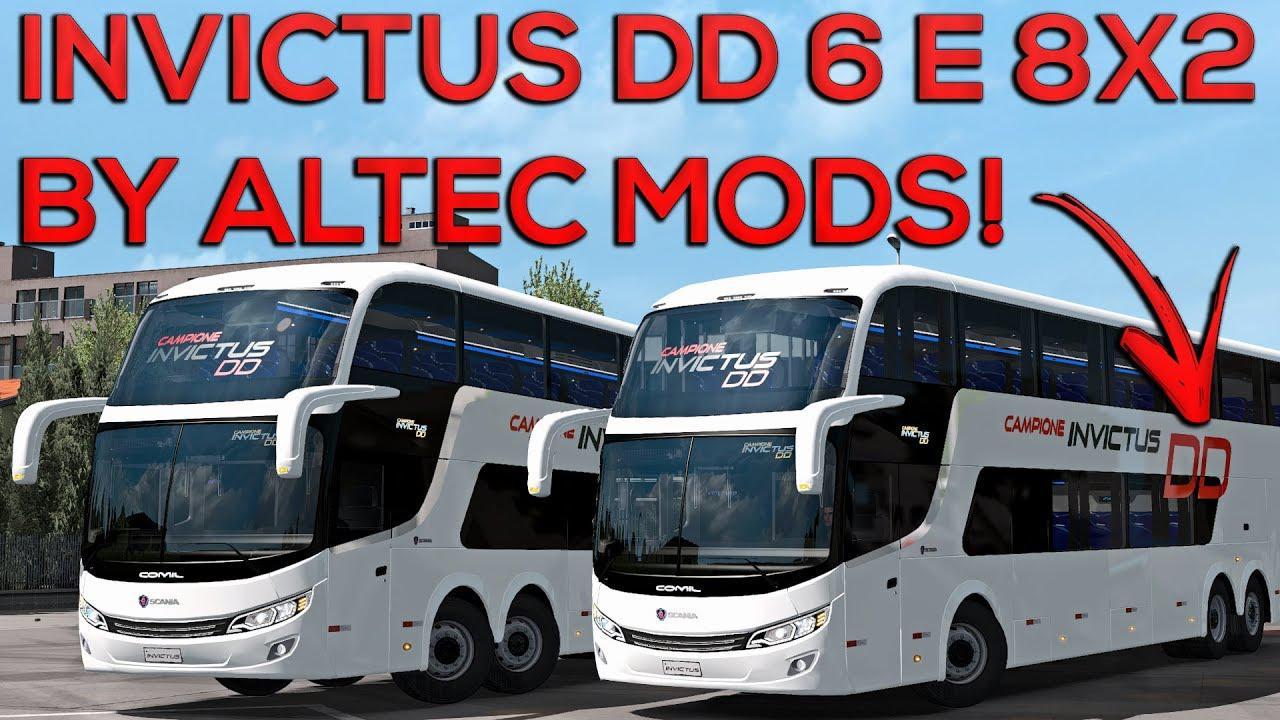 ETS2 - Comil Invictus DD Scania V1.0 (1.36.x)