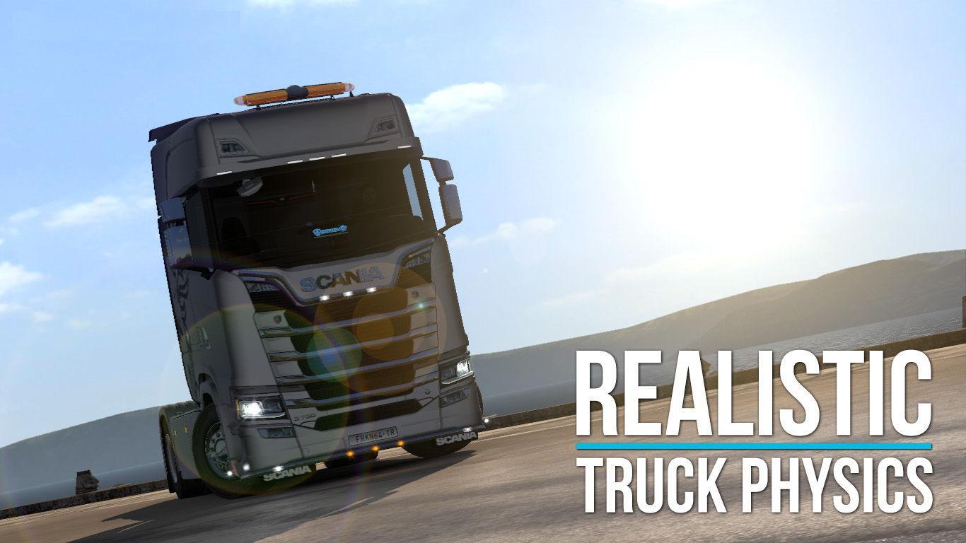 ETS2 - Realistic Truck Physics V6.1 (1.37.x)