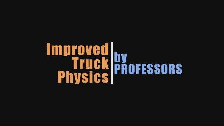 ETS2 - Improved Truck Physics V5.0 (1.41.x)