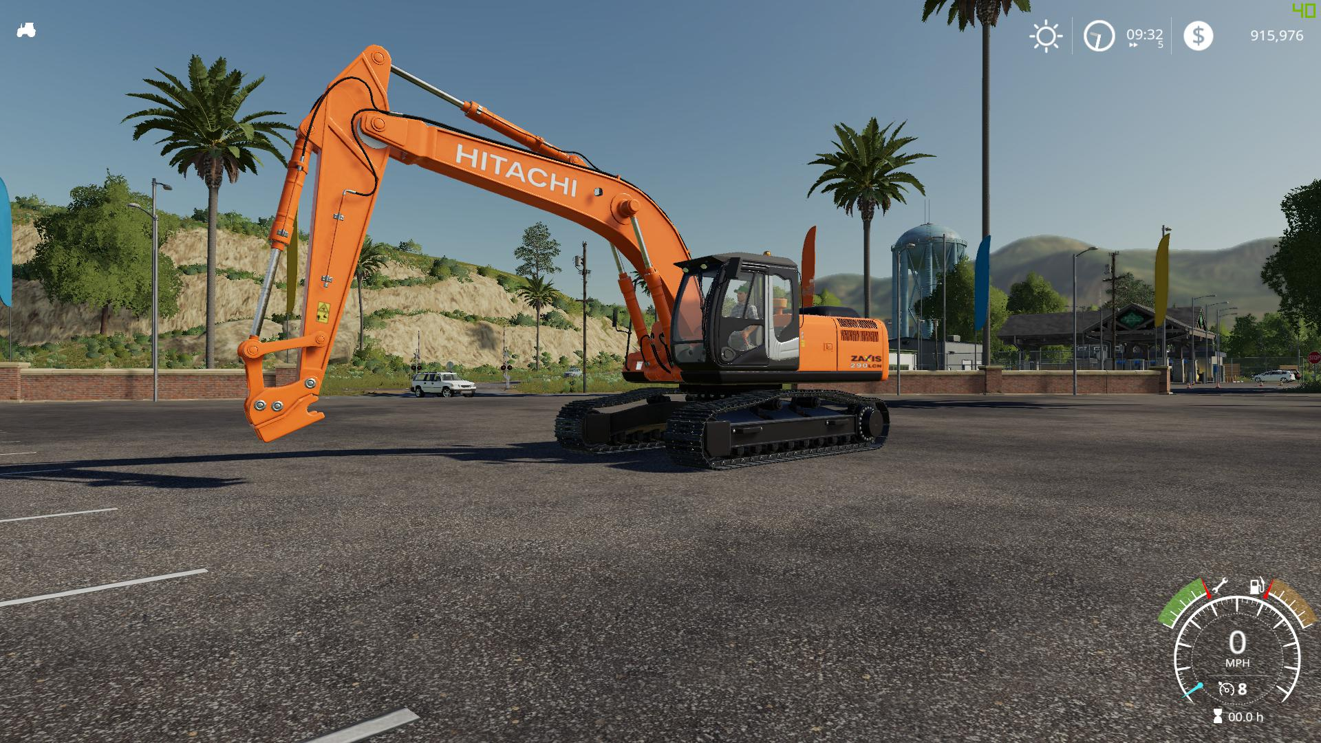 FS19 - My Edit of The Hitachi ZX290LC V2.0
