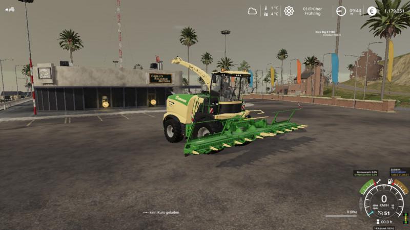 FS19 - Krone Big X 1180 V1.0