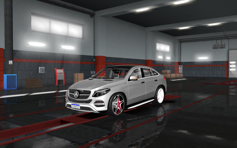 ETS2 - Mercedes Benz GLE 400 Beta (1.35.X)