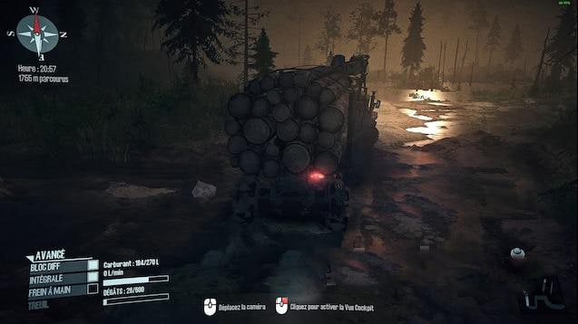 Spintires:Mudrunner - Call Of The Wild Map