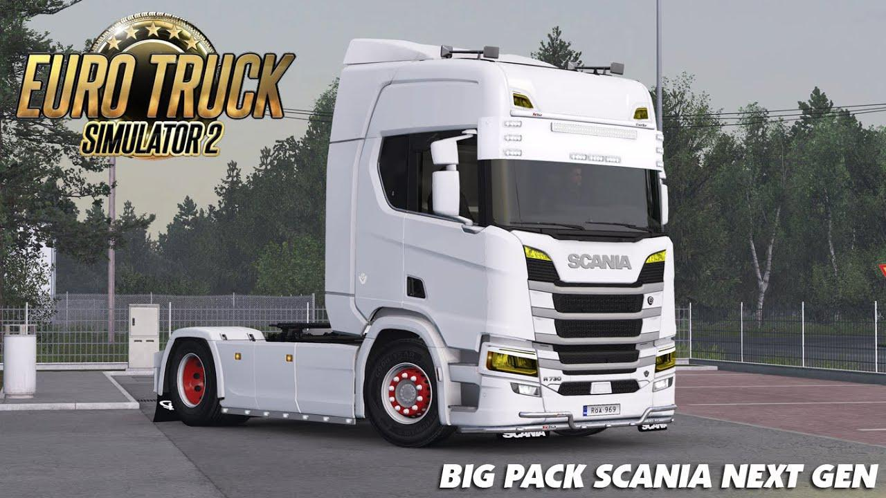 ETS2 - Scania Next Gen Big Pack V1.5 (1.38.x)