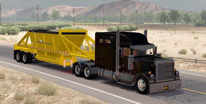 ATS - Ownable Dump Trailer Trail King TKBD22-362 (1.35.x)